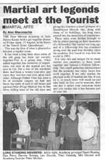 Queanbeyan Age newspaper article
