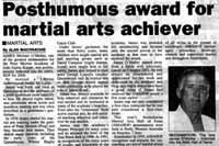 Queanbeyan Age newspaper article